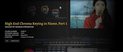 FXPHD - FLM217 FLM218 - High End Chroma Keying in Flame Part 1 and 2