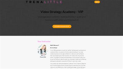 Trena Little - Video Strategy Academy VIP