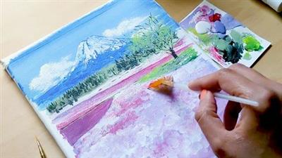 An Ultimate Acrylic Painting Course for Beginners