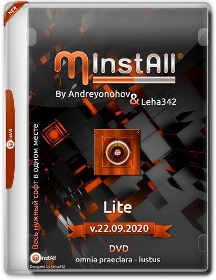 MInstAll by Andreyonohov & Leha342 Lite v.22.09.2020 (RUS)