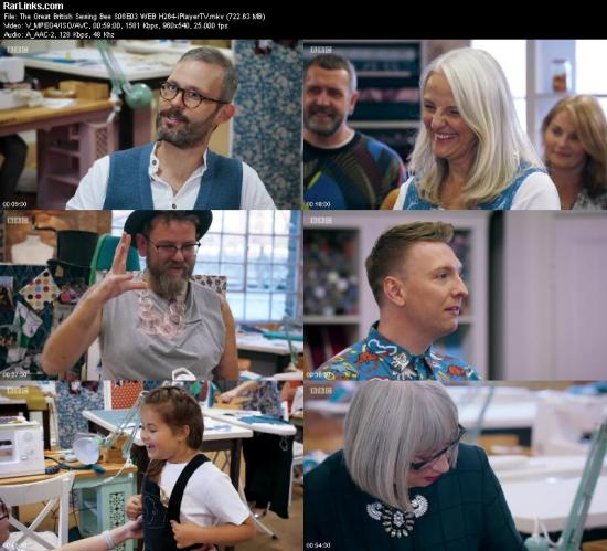The Great British Sewing Bee S06E03 WEB H264 iPlayerTV