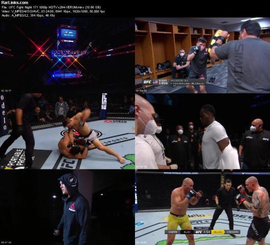 UFC Fight Night 171 1080p HDTV x264 VERUM