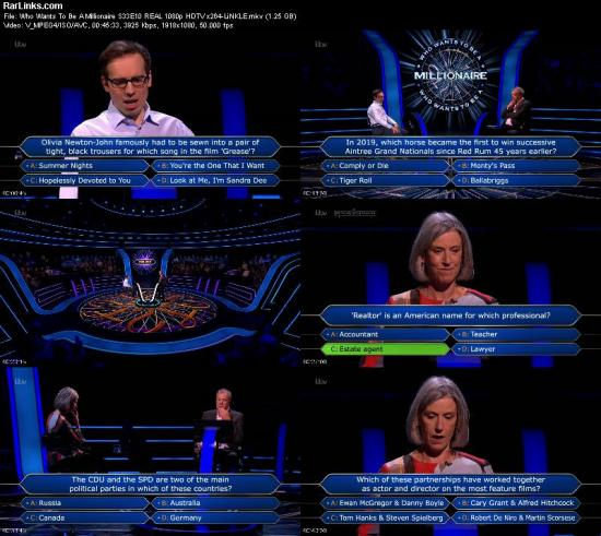 Who Wants To Be A Millionaire S33E10 REAL 1080p HDTV x264 LiNKLE
