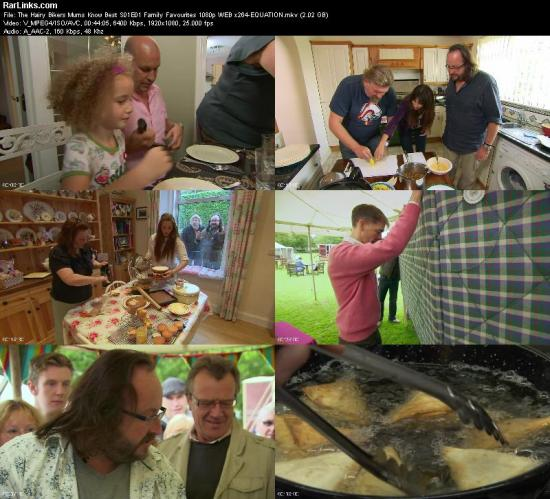 The Hairy Bikers Mums Know Best S01E01 Family Favourites 1080p WEB x264 EQUATION