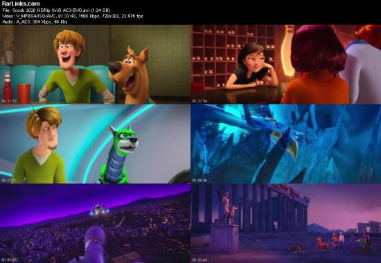 Scoob 2020 HDRip XviD AC3 EVO