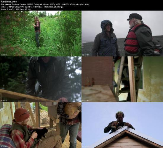 Alaska The Last Frontier S08E10 Calling All Kilchers 1080p WEB x264 EQUATION
