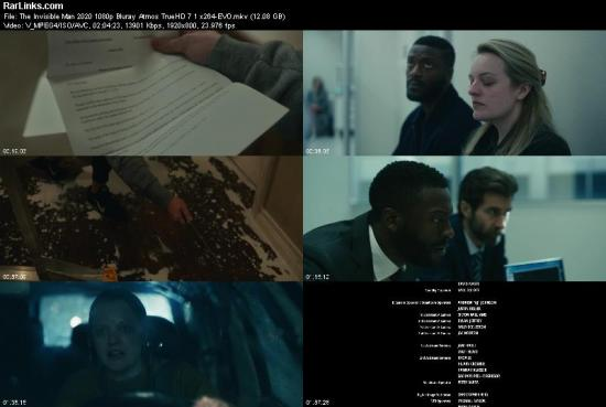 The Invisible Man 2020 1080p Bluray Atmos TrueHD 7 1 x264 EVO
