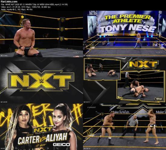 WWE NXT 2020 05 13 WWEN 720p Hi WEB h264 HEEL