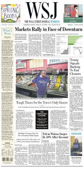 The Wall Street Journal - 18 04 (2020)