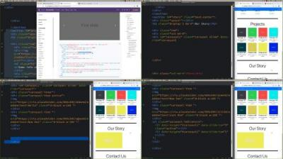 Bootstrap 4 Single Page Website Bootstrap 4