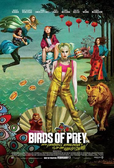 Birds of Prey  The Fantabulous Emancipation of One Harley Quinn (2019) -2160p