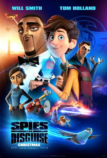 Spies in Disguise 2019 FiNNiSH 720p BluRay x264-RCDiVX