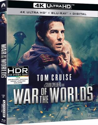 Война миров / War of the Worlds (2005) UHD Blu-Ray EUR 2160p | 4K | HDR | Dolby Vision | Лицензия