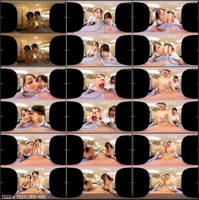 Mikako Abe, Kurumi Tamaki - Hear Those Nympho Nurses Talk Dirty Part 1 [Oculus Rift, Vive, Samsung Gear VR   SideBySide] [1920p]