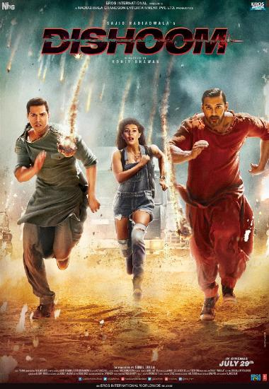 Dishoom (2016) 1080p WEB-DL AVC AAC-BWT Exclusive