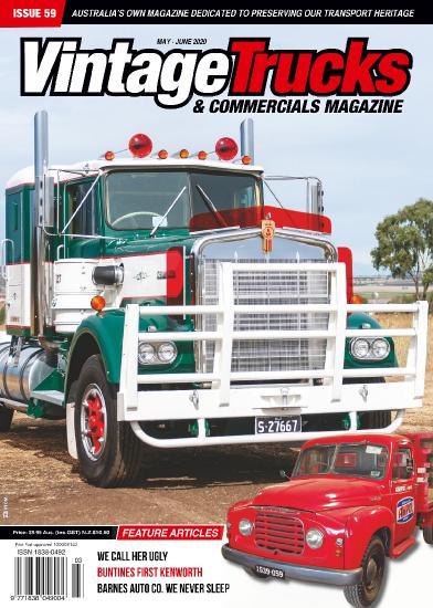 Vintage Trucks & Commercials - May-June (2020)