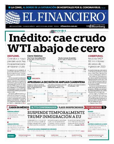 El Financiero - 21 04 (2020)