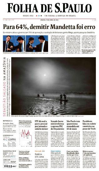 Folha de S.Paulo - 18 04 (2020)