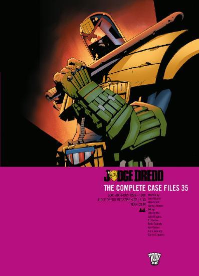 Judge Dredd The Complete Case File 35
