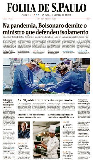 Folha de S.Paulo - 17 04 (2020)
