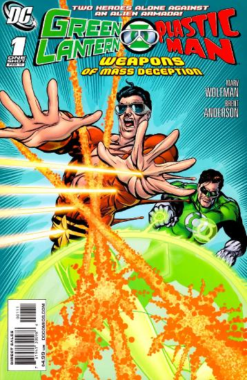 Green Lantern Plastic Man   Weapons of M Deception, 20( 01)