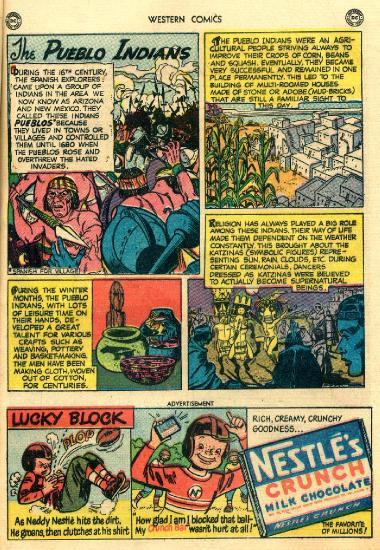 Western Comics  (1951)  (Punkrat) 020