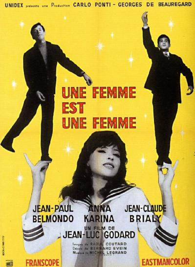 A Woman Is a Woman (1961) + Extras (1080p BluRay x265 HEVC 1