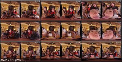 WAVR-100 C - Group sex with College Girls [Oculus Rift, Vive, Samsung Gear VR | SideBySide] [2048p]