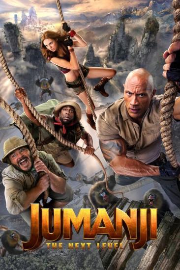 Jumanji The Next Level 2019 1080p WEB-Rip X264 AC3 - 5-1 KINGDOM-RG