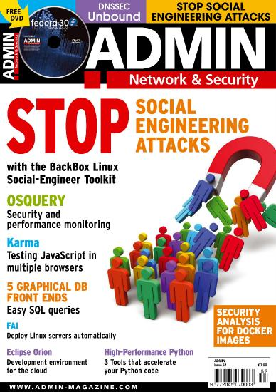 Admin Network and Security Issue 52 - July August 2019