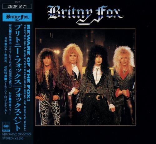 Britny Fox - Вritnу Fох [Jараnеsе Еditiоn] (1988)