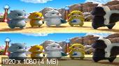 В поисках Жу 3D / Quest for Zhu 3D (by Amstaff)  Вертикальная анаморфная стереопара