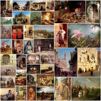 1001 Orientalist Art Paintings [Etcohod]