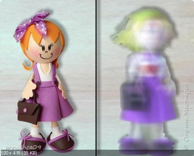 Куколка Школьница из набора часть 2 5995e4204107610d56ba2d88e49f8a75