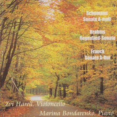 Zvi Harell - Schumann, Brahms & Franck  Works for Cello and Piano (Arr. for Cello and Piano) - (2...