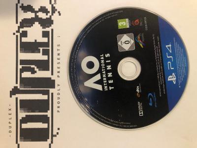 AO International Tennis PS4 DUPLEX