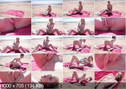 Belonika - Beach Orgasm | TeenPornStorage.com | 2020 | HD