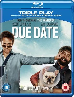 Впритык / Due Date (2010) BDRip 720p
