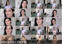 Model Showing Her Body On A Casting - Melody Mae (WoodmanCastingX.com | FullHD | 915 MB)
