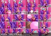 Blows Pink Balloons - Kali Roses (AmateurBoxxx.com | HD | 119 MB)