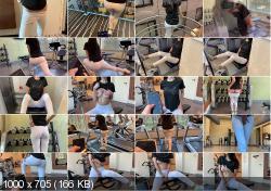 Horny69Rabbits - Public Masturbation With Lovense Lush Part 3. During Fitness In The Gym | PornhubPremium.com | 2020 | FullHD