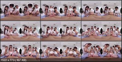 An Sasakura, Rika Aimi, Riko Sato - WAVR-103 A [Oculus Rift, Vive, Samsung Gear VR | SideBySide] [2048p]
